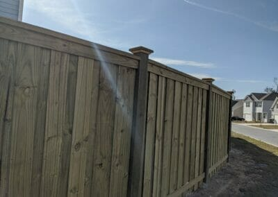 Curved-Fence